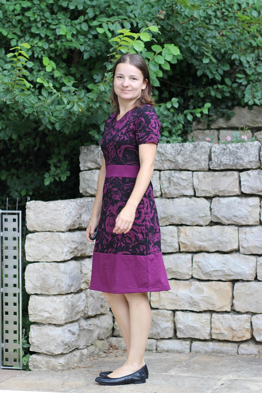Kleid nach eigenem Schnitt