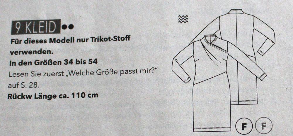 Schnitt 9 Fashion Style 09-2018