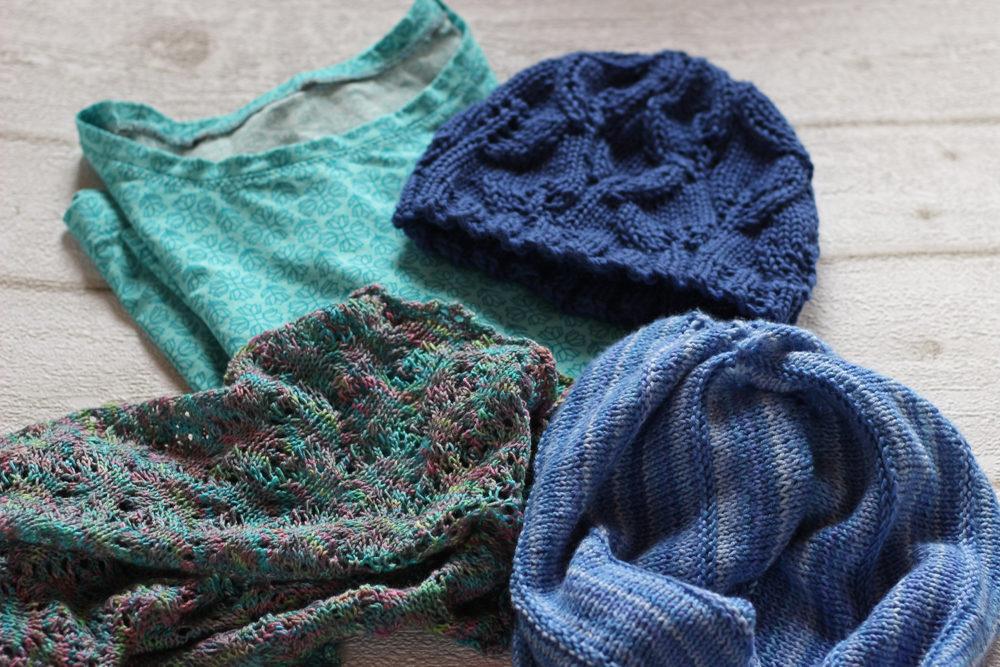 blaue Sachen