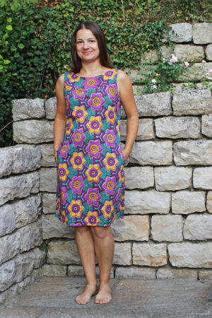 Kleid aus Waxprint Meine Nähmode