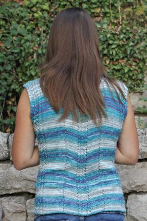 Strickschirt Micro Summer Trend Color