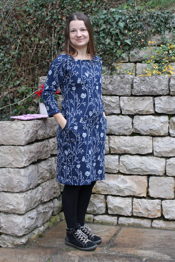 Kleid Square Neckline aus Ottobre