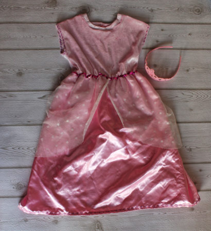 Kostüm Prinzessin in rosa