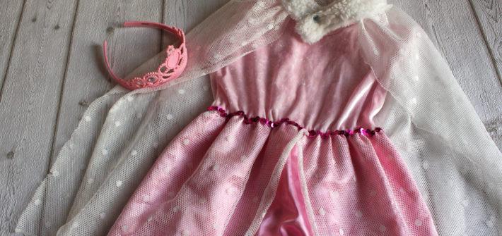 Kostüm Prinzessin mit Umhang