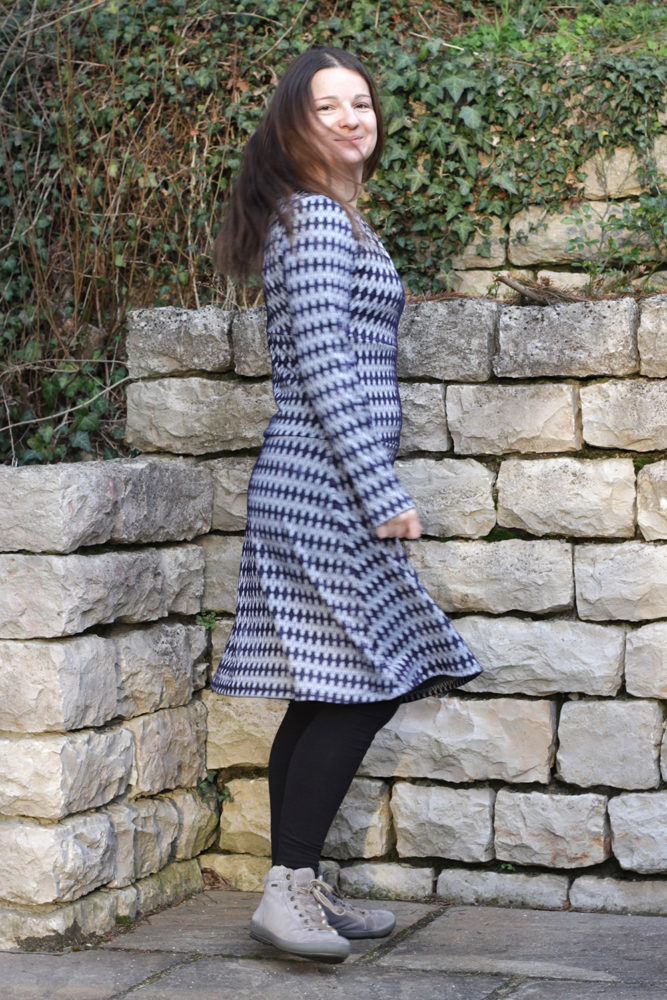 Kleid Elodie aus Strickstoff