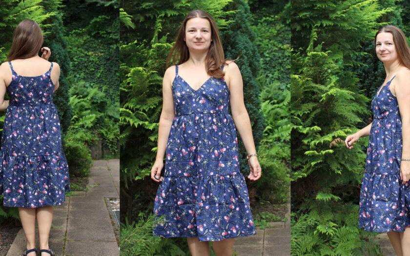 Kleid Hippie Style aus der Ottobre