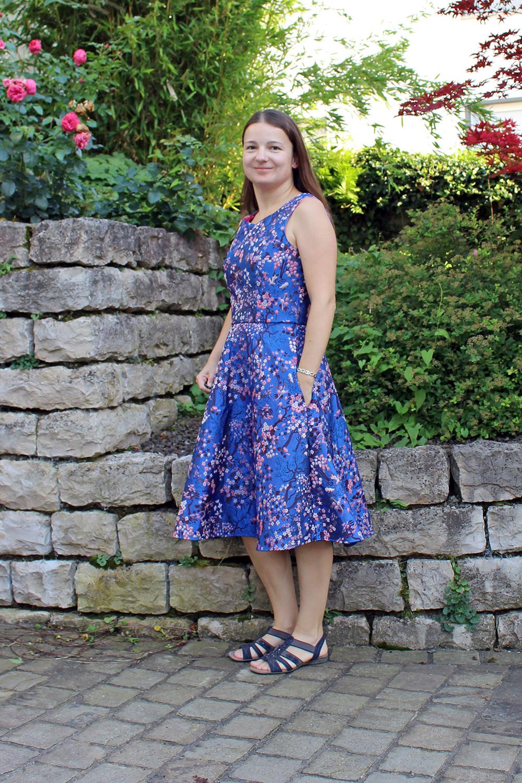 Kleid Simplicity 7043 nähen